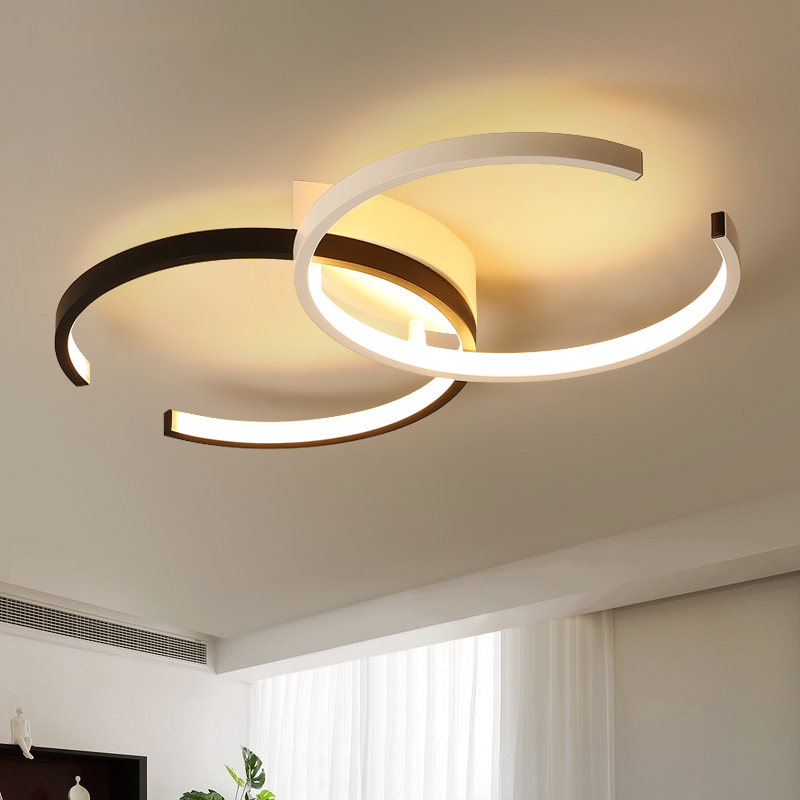 Kitchen Ceiling Lights With Led Bulbs: Creative Fashion Ceiling Lamp Led Ceiling Light For Hall