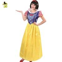 Взрослого Белоснежка костюм принцессы пикантные Новогодние товары Косплэй вечернее Изящное Платье Наряд Костюмы для леди