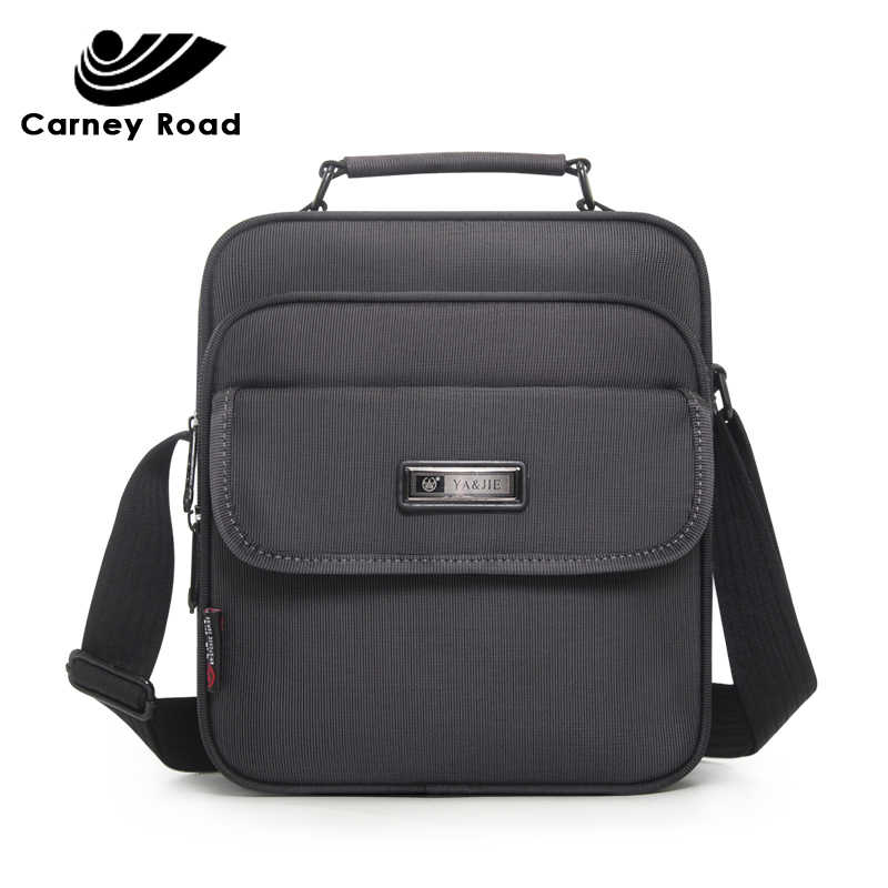 Brand Oxford Business Men Messenger Bag Fashion Handbags High Quality Men's Shoulder Bag 9.7 inch Ipad Crossbody Bags Waterproof