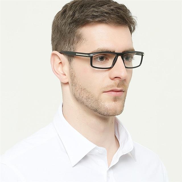 Retro Men Resin Reading Glasses High Quality Elderly Reading Mirror Presbyopic Prescription Glasses Frame Diopter Factory Outlet