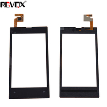 4 N520 New Touch Screen For Nokia Lumia 520 Digitizer Front Glass Lens Sensor Panel