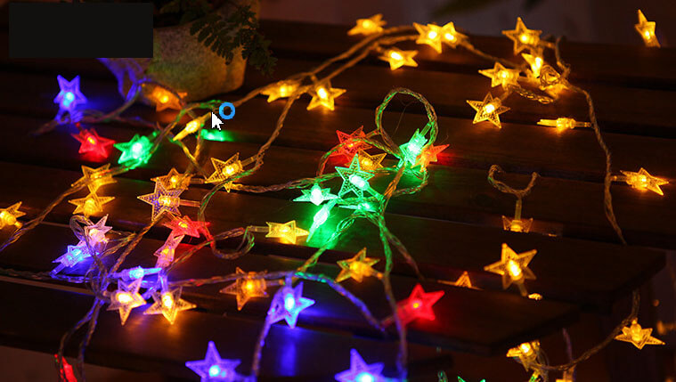 Colorful Star LED