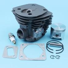 45mm Big Bore Cylinder Piston Gasket Kit For Jonsered CS 2152 EPA 2150 2147 Chainsaw Nikasil Plated 537253102