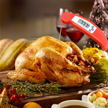 BBQ Thermometer Meat Cooking Probe Digital Instant-Read Tools Best for Chicken Grill Food Milk and Bath Water Household  Candy