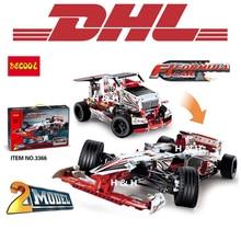 2017 New 1219Pcs 3366 Decool Figure Technic Grand Prix Racer Model Building Kits Blocks Bricks Toy For Children Compatible 42000