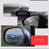 1.52x2m/60x78.7 Car Rearview Mirror Protective Film,Auto Anti Fog Rainproof Rear View Mirror Window Clear Protective Film