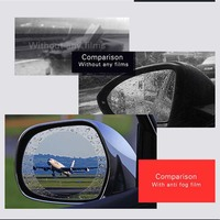 1.52x2m/60x78.7 Car Rearview Mirror Protective Film,Auto Anti Fog Rainproof Rear View Mirror Window Clear Protective Film