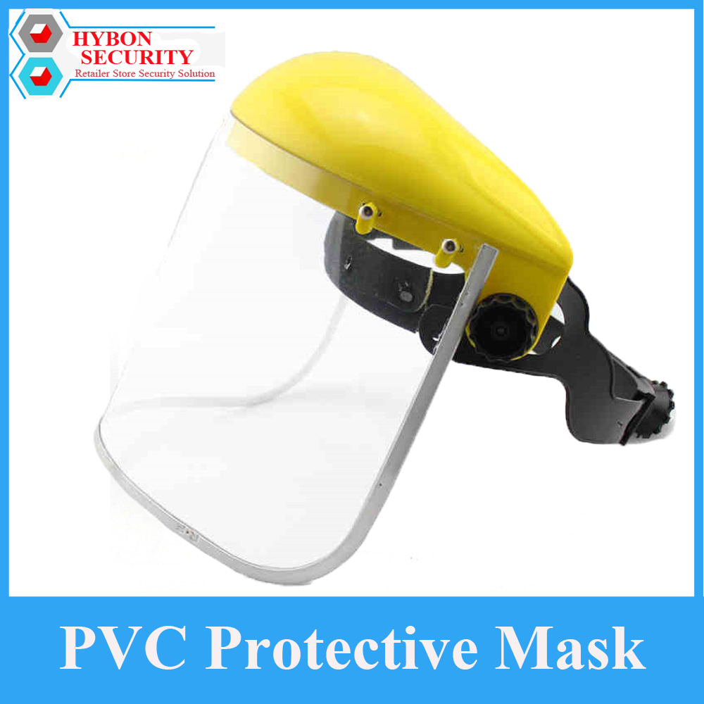HYBON 1Pcs PVC Protective Mask Anti-shock Welding Helmet Unisex Anti-UV Full Workwear Eye Protection Gardening Half Mask Shield transparent lens anti uv anti shock welding helmet face shield solder mask face eye protect shield anti shock