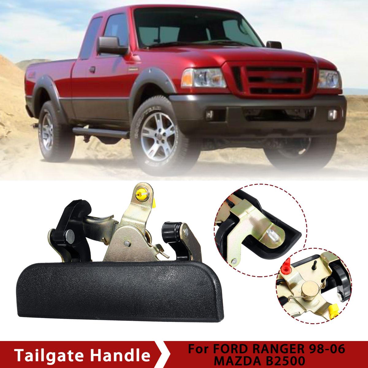 FITS FORD RANGER Tailgate Handle Black 1998 1999 2000 2001 2002 2003 2004