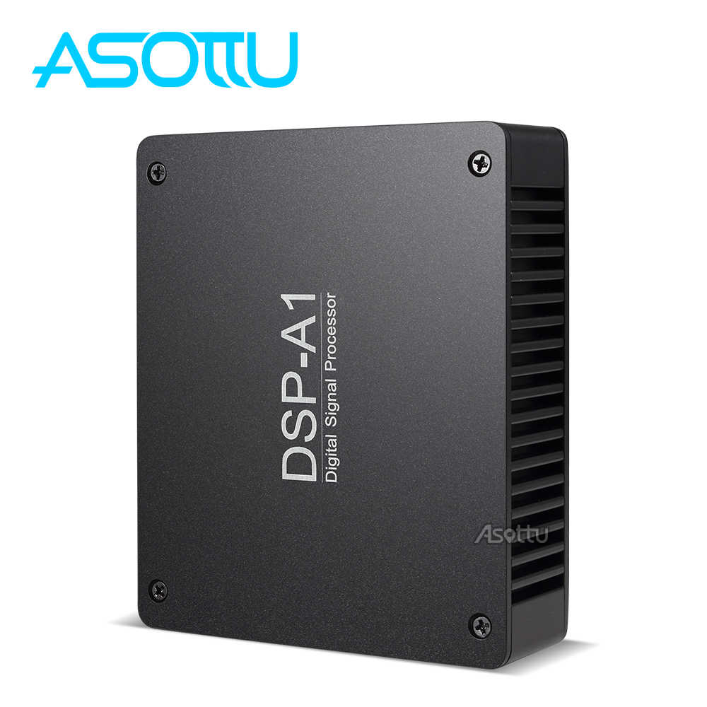Asottu Car Audio Amplifier DSP Sound 12V Auto Power Amplifier USB MP3 DVD CD FM Radio SD Stereo