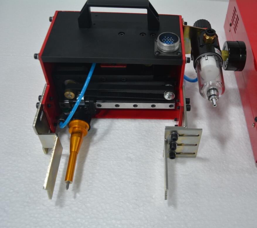 Portable Dot Peen Marking Machine With Double Handle For VIN Code Pneumatic Machine
