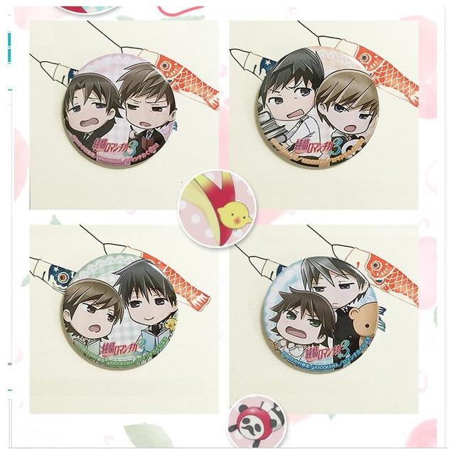 Eotten girl BL Kawai Junjou Romantica Misaki Usami Pin Badge Brooch Badge Comic Bag Cloth Decoration Collection Queer Viewer