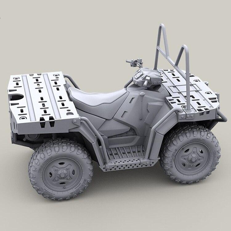 US Military MV 850 ATV 1//35 Resin Figure Model Unassembled Kit Polaris NEW