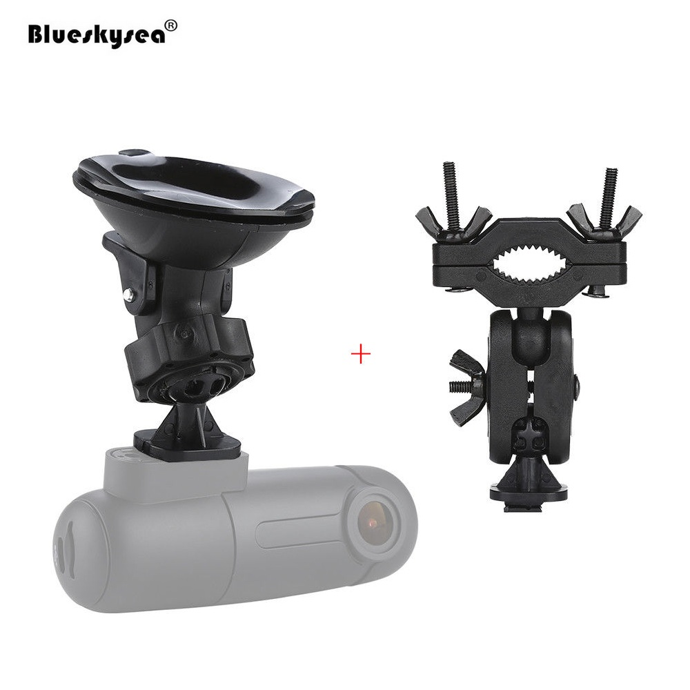 Suction Cup Holder Mount Bracket with Rearview Mirror Bracket for Blueskysea Car WIFI DVR Mini B1W car swivel suction cup mount holder with car charger for htc one s z520e