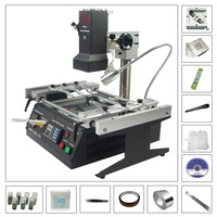 LY IR6500 BGA rework machine solder station with 80MM 90MM stencil 184pcs kit pack