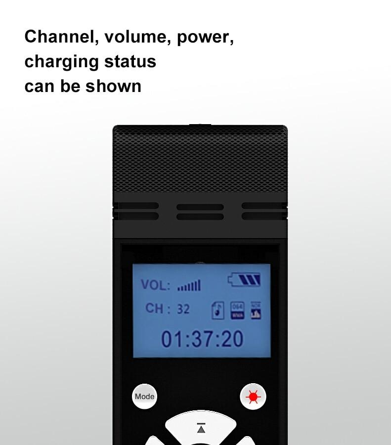 TP-WIRELESS 2.4GHz traadita kaasaskantav mikrofon ja - Kaasaskantav audio ja video - Foto 4