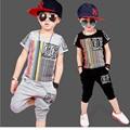 Toddler Boys Clothing Casual Vetement Enfant Garcon Fashion Boy Clothes Cool  Kids Hip Hop Clothing Sports Suit