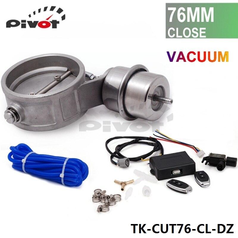 Pivot Control Valve : Pivot bar exhaust control valve set with vacuum actuator