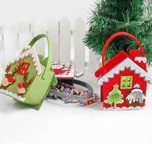 New Christmas Candy Bag Sweet Cornucopia For New Year Kids Gifts Fun Children Bags Ornament Xmas/Festival Props Decoration P20