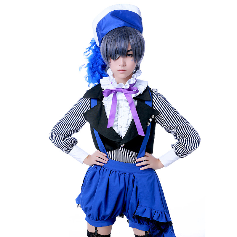 Book of Circus Black Butler Ciel Phantomhive Cosplay Anime Suit Polyester Costume Japanese Uniform Anime Cosplay