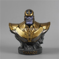 3 Colour 18 CM Resin Bust Thanos Model Avengers 3 Infinity War Part I /II Collection Statue Thanos Action Figure