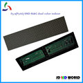 F5.0 P7.62 64*16dots 488*122MM  dual color Red&Green color SMD indoor led modules replace F5.0 indoor  matrix led modules