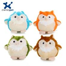 Charmingpet zabawki dla psa sowa szkolenie dla zwierząt piskliwe zabawki
