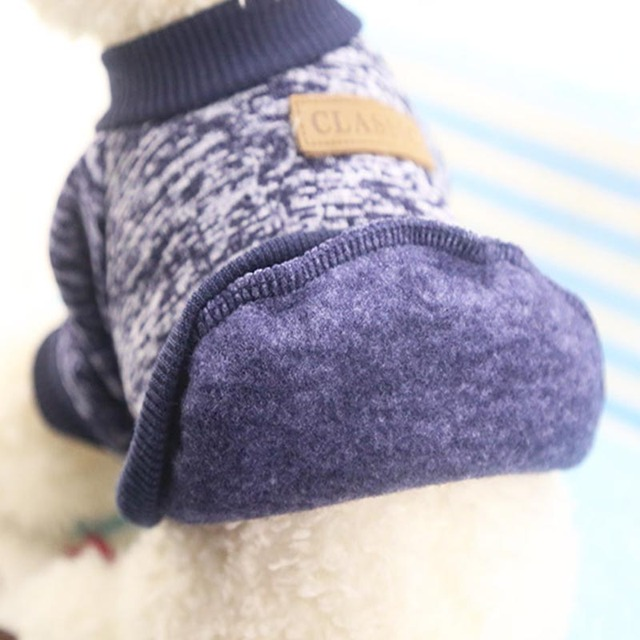 Dog Clothes For Small Dogs Soft Pet Dog Sweater Clothing For Dog Winter Chihuahua Clothes Classic Pet Outfit Ropa Perro 20-22S1 4