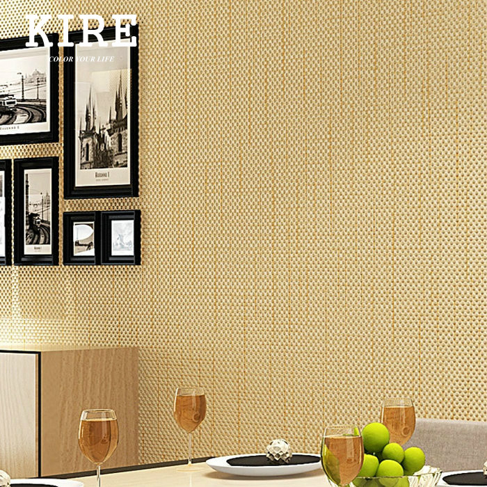 Non Woven Linen Peel And Stick Wallpaper Self Adhesive Wall Paper For Living Room Home Interior