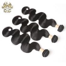 KING HAIR Peruvian Remy Hair Body Wave Bundles