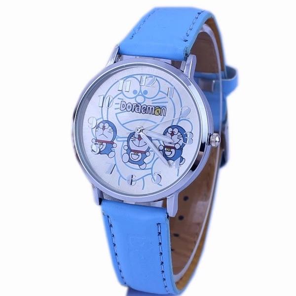 Cartoon New Tinkling Cat Dora A Dream Children Belt Fashion Quartz Watch Direct Selling Q Watch