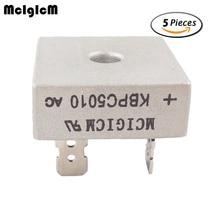 MCIGICM 5 шт. 50A 1000 В диодный мостовой выпрямитель kbpc5010