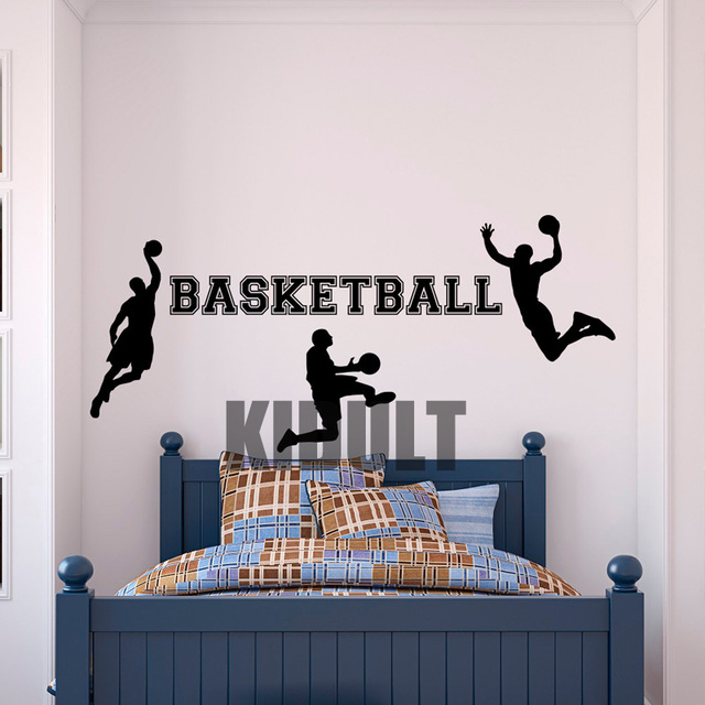 Aliexpresscom Buy Wall Decal Basketball Dunk Basketball Design
