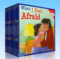 Livros de 15/Set Aprender A Conviver Muito Bem Com Crianças Inglês Livros de História Da Imagem Prática IQ EQ Habilidades Sociais crianças Educacional