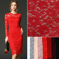 Latest French Nigerian Laces Fabrics Flower Pattern High Quality Tulle African Laces Fabric Wedding Decor DIY