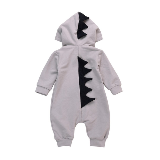 8fcef2ab0 GRNSHTS Baby Boys Girls Dinosaur Costume Long Sleeve Zipper Hoodie Jumpsuit  Newborn Infant Romper Outfits Sets Kids Clothes