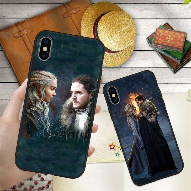 Game Thrones For iPhone X XR XS Max 5 5S SE 6 6S font b 7