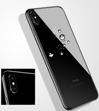 Tempered Glass for iPhone X XS MAX back screen protector iphone 7 8 plus 6 6S front back glass for iphone 5 5s 5c SE protective panda pattern detachable protective wood back case for iphone 5c brown black
