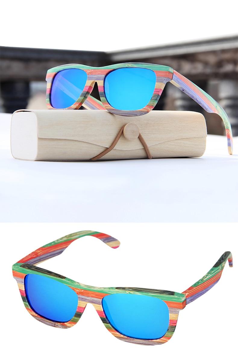 4. bem embalado para a proteção O que há na caixa 1x1 caixa de presente de madeira  1x1 saco dos pp 1x1 saco de tecido 1x1 óculos de sol 1x1 UV cartão de ... c0cc53339a