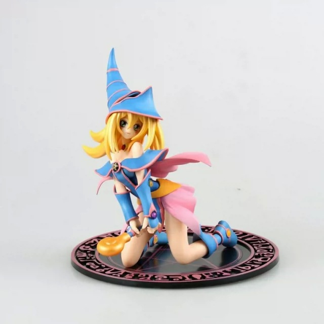Anime Yu-Gi-Oh Figuras 7/18cm Yu Gi Oh Duel Monster Dark Magician Girl PVC Action Figure Model Collection Toys Gift new original asd a2 0121 m 1ph 220v 100w 0 9a canopen e cam ac servo drive with full closed control