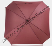 Square shape,130cm diameter golf umbrella,universal firgured shape.14mm fiberglass shaft and 3.5mm fiberglass ribs