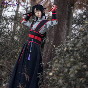 Image 4 - Anime Dao Mo Om Shi Cosplay Wei Wuxian Jiang Cheng Kostuum Grootmeester Van Demonische Teelt Mo Dao Zu Shi Cosplay kostuum Mannen