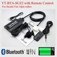 Yatour Car Bluetooth MP3 Player YT BTA With Remote Control For Suzuki PACR 14pin Plug Radios
