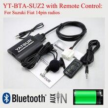 Yatour Car Bluetooth MP3 Player YT-BTA with Remote Control for Suzuki PACR 14pin plug radios