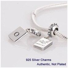 L255 925 tornillo pasaporte cuelgan el grano del encanto de la joyería DIY adapta para Pandora pulsera collar de DIY que hace