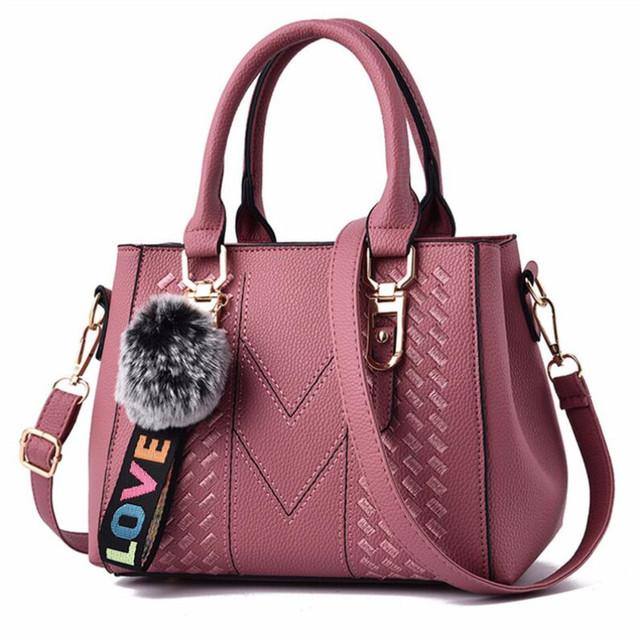 Women 2020 Sac a Main Ladies hair ball Hand Bag