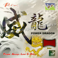 Palio Power Dragon BIOTECH Short Pips Out Table Tennis Pingpong Rubber With Sponge