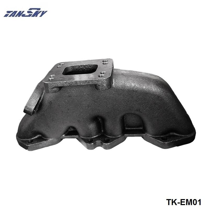 For VW GOLF/PASSAT 12V VR6 T3/T4 Flange Turbocharge Exhaust Manifold Header Cast Iron For 38MM Wastegate TK-EM01