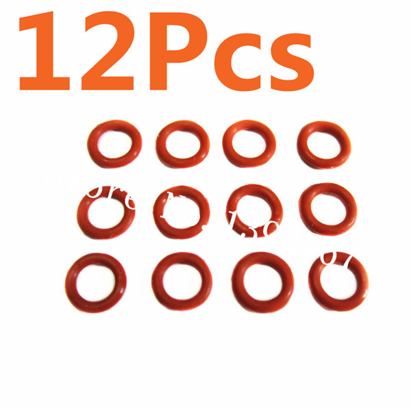 <font><b>HSP</b></font> 1/10 Spare Parts <font><b>02078</b></font> O-Ring 12Pcs For Nitro RC Model Car Hobby Truck Buggy MONSTER Backwash image