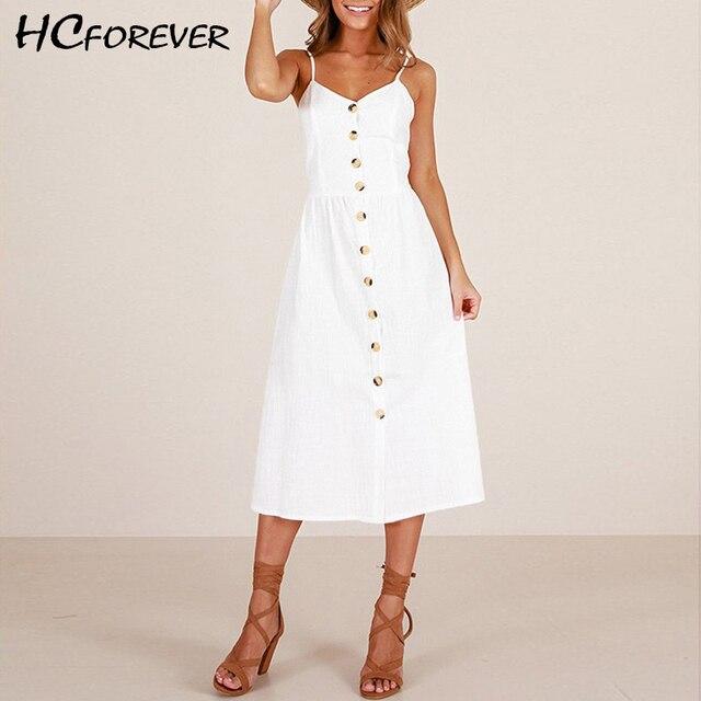 a8f94f5e320 Summer Dress Women Sexy White Black Red Plus Size Vintage Beach Button  Fashion Retro Dresses Lady Pin Up Long XXXL Clothes Sale